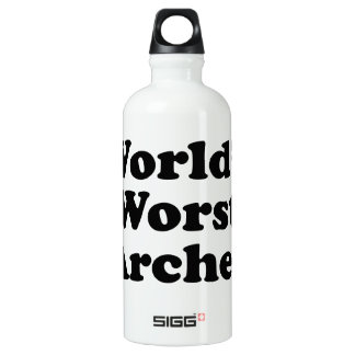 World's Worst Archer Water Bottle