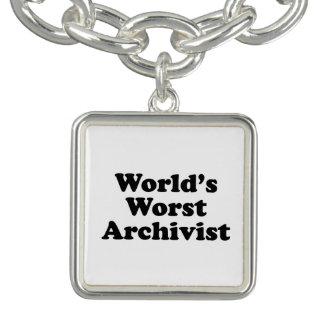 Worlds' Worst Archivist Bracelets