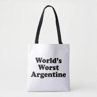 World's Worst Argentine Tote Bag