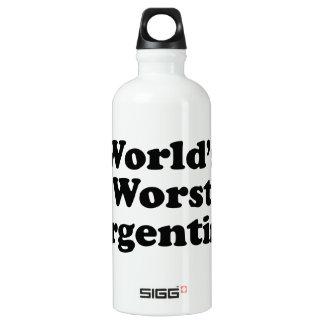 World's Worst Argentine Water Bottle