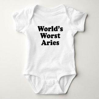 World's Worst Aries Baby Bodysuit