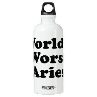 World's Worst Aries Water Bottle