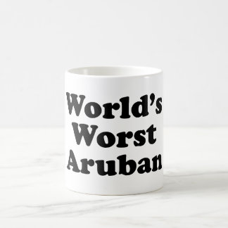 World's Worst Aruban Coffee Mug