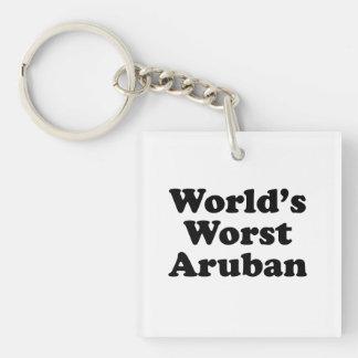 World's Worst Aruban Keychain