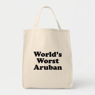 World's Worst Aruban Tote Bag