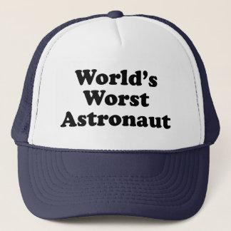 World's Worst Astronaut Trucker Hat