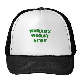Worlds Worst Aunt Trucker Hat