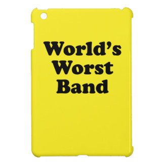 World's Worst Band Cover For The iPad Mini