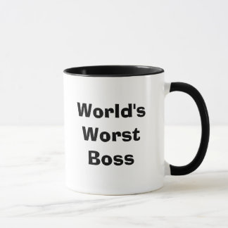 World's Worst Boss Mug