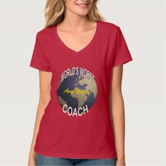 World's Worst Coach T-Shirt