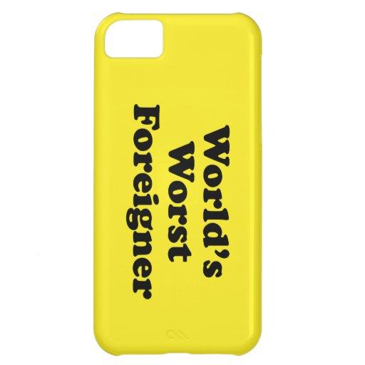 World's Worst Foreigner iPhone 5C Case