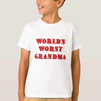 Worlds Worst Grandma T-Shirt