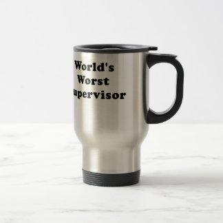 Worlds Worst Supervisor Travel Mug