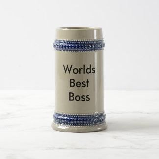 WorldsBest Boss Beer Stein