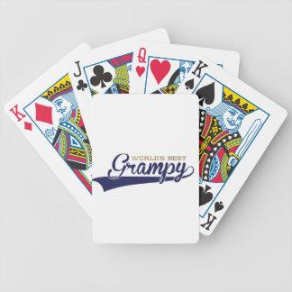 WorldsBestGrampyTee-01 Bicycle Playing Cards
