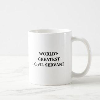 WORLD'SGREATEST CIVIL SERVANT BASIC WHITE MUG