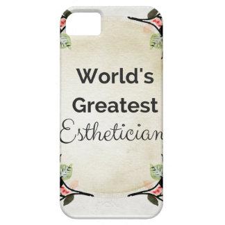 World'sGreatest Esthetician iPhone 5 Cover
