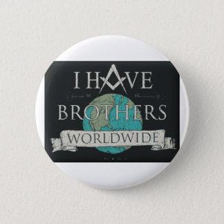 Worldwide Brotherhood 2 Inch Round Button