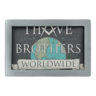 Worldwide Brotherhood Belt Buckle