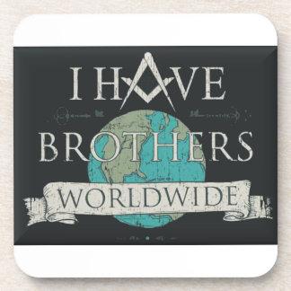 Worldwide Brotherhood Coaster
