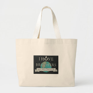 Worldwide Brotherhood Large Tote Bag