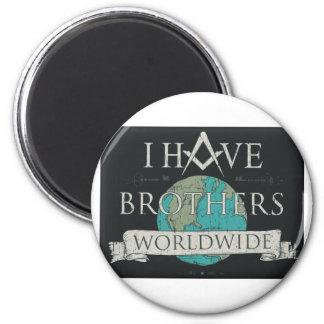 Worldwide Brotherhood Magnet