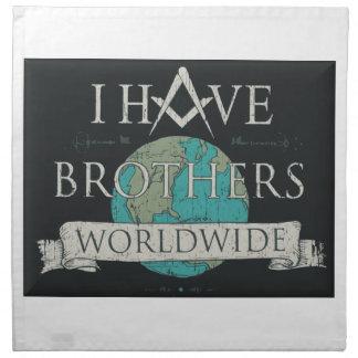 Worldwide Brotherhood Napkin