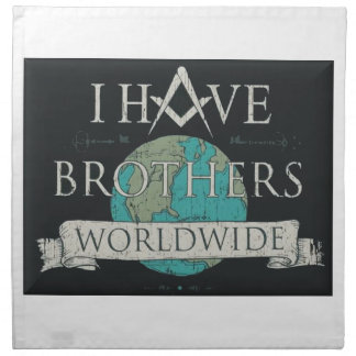 Worldwide Brotherhood Napkins