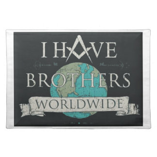 Worldwide Brotherhood Placemats