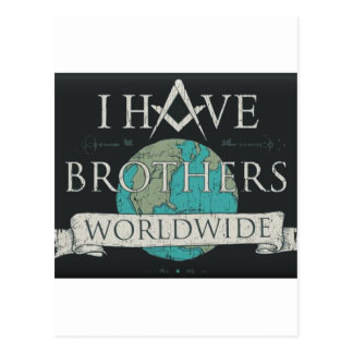 Worldwide Brotherhood Postcard