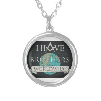 Worldwide Brotherhood Silver Plated Necklace