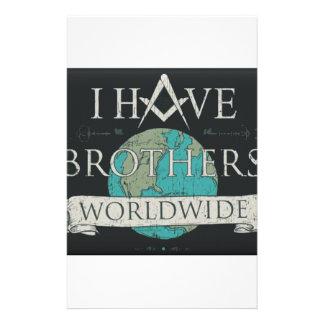 Worldwide Brotherhood Stationery