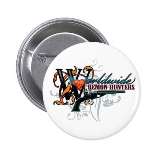 Worldwide Demon Hunters Pins