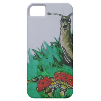 worm and snail art iPhone 5 case