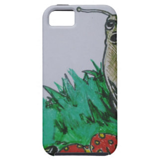 worm and snail art iPhone 5 cases