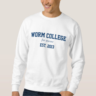 worm college shirt
