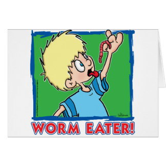 Worm Eater Card