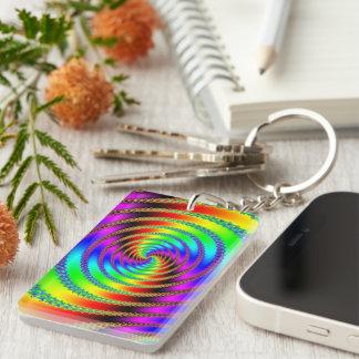 Worm Hole Keychain