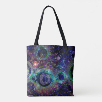 Worm Holes Tote Bag