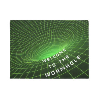 wormhole space astronauts welcome door mat