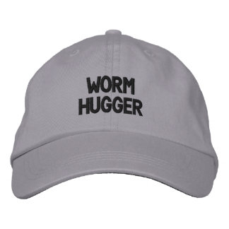 WormHugger Embroidered Hat