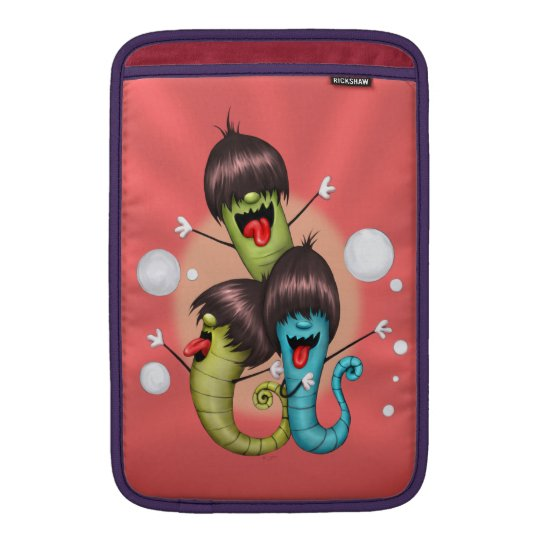 "WORMS ALIENS MONSTERS 2 Macbook Air 11 "" MacBook Air Sleeve"