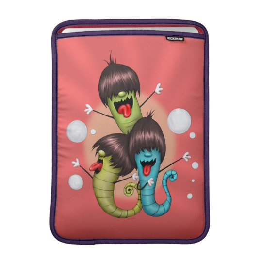 "WORMS ALIENS MONSTERS 2 Macbook Air 13 "" Sleeve For MacBook Air"