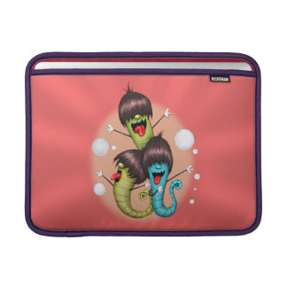 "WORMS ALIENS MONSTERS Macbook Air 13 "" MacBook Sleeve"