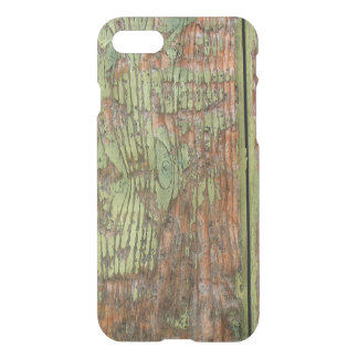 Worn and Weathered Green Barn Wood iPhone 8/7 Case