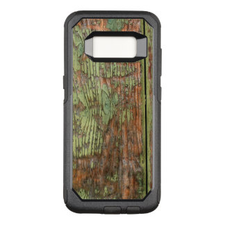 Worn and Weathered Green Barn Wood OtterBox Commuter Samsung Galaxy S8 Case