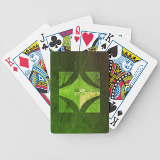 Worn look Bicycle playing cards
