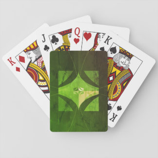 Worn look playing cards