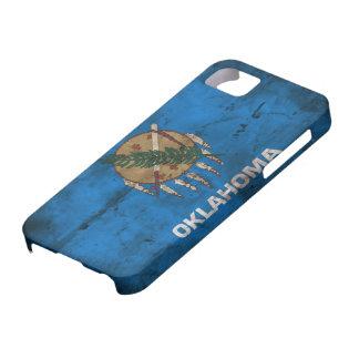 Worn Oklahoma Flag; iPhone 5 Cover