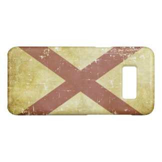 Worn Patriotic Alabama State Flag Case-Mate Samsung Galaxy S8 Case